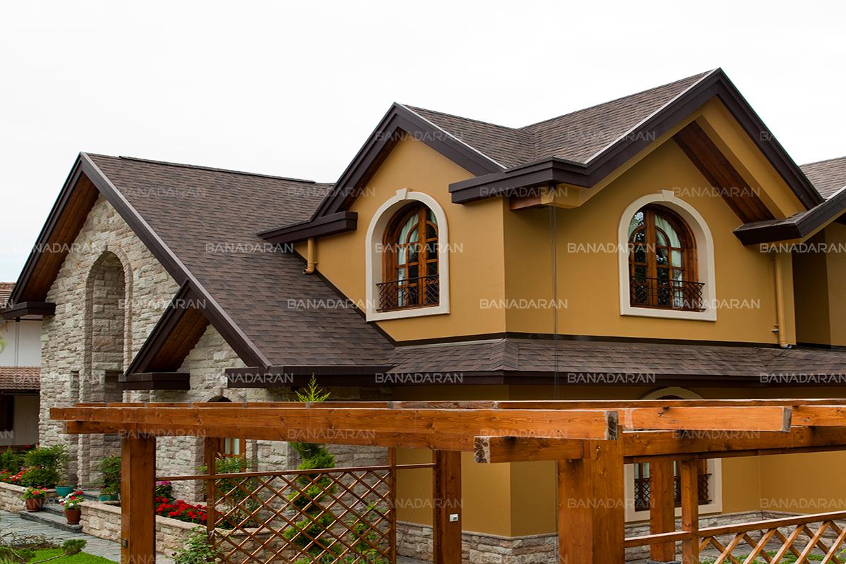 -دو لایه پشت چسبدار-شینگل-پوشش سقف شیبدار-نماینده انحصاری-