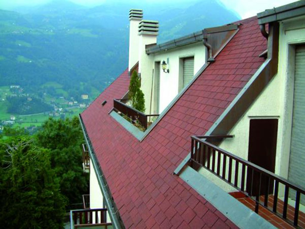 سوپرگلس-شینگل-پوشش سقف شیبدار