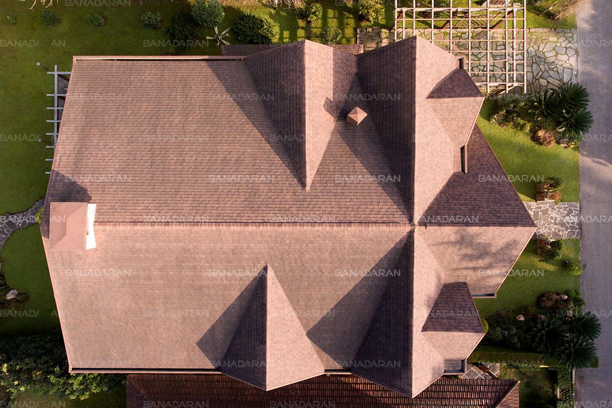 -دو لایه پشت چسبدار-شینگل-پوشش سقف شیبدار-نماینده انحصاری