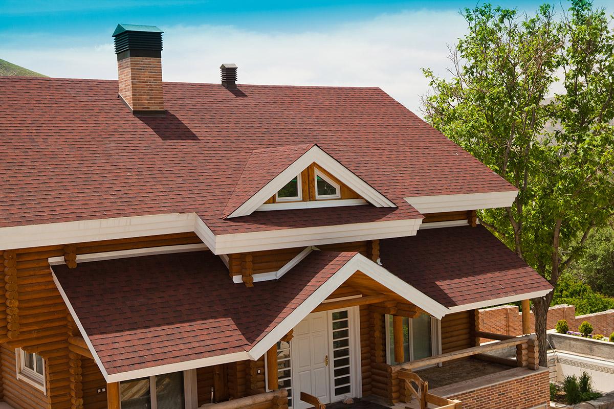 پوشش سقف شیبدار-سقف شینگل-شینگل-