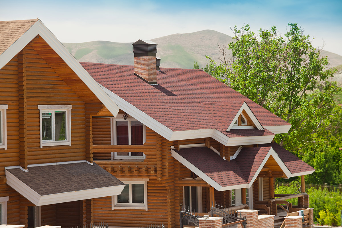 پوشش سقف شیبدار-سقف شینگل-شینگل