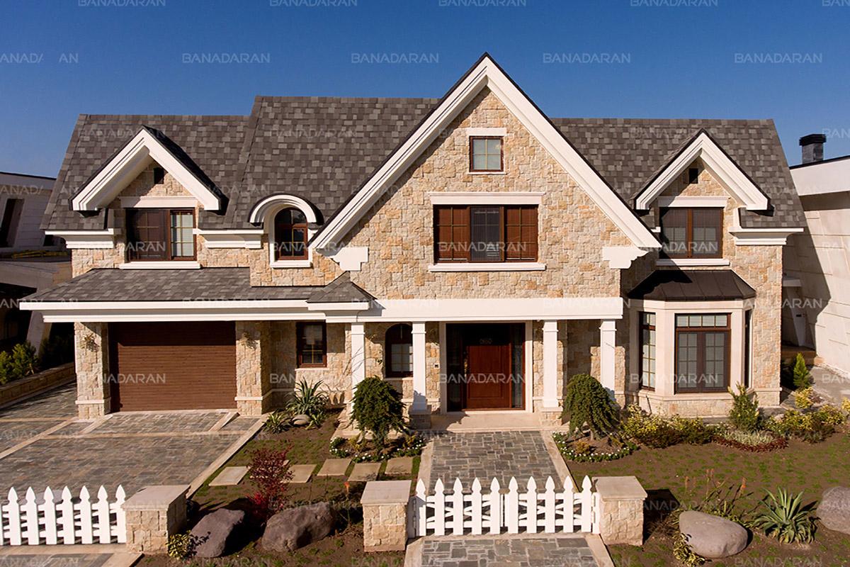 سقف شیبدار با پوشش شینگل
