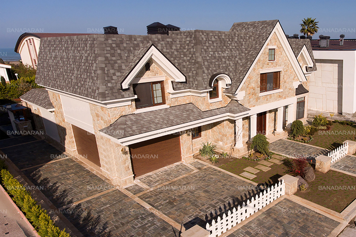 سقف شینگل-شینگل-پوشش سقف شیبدار