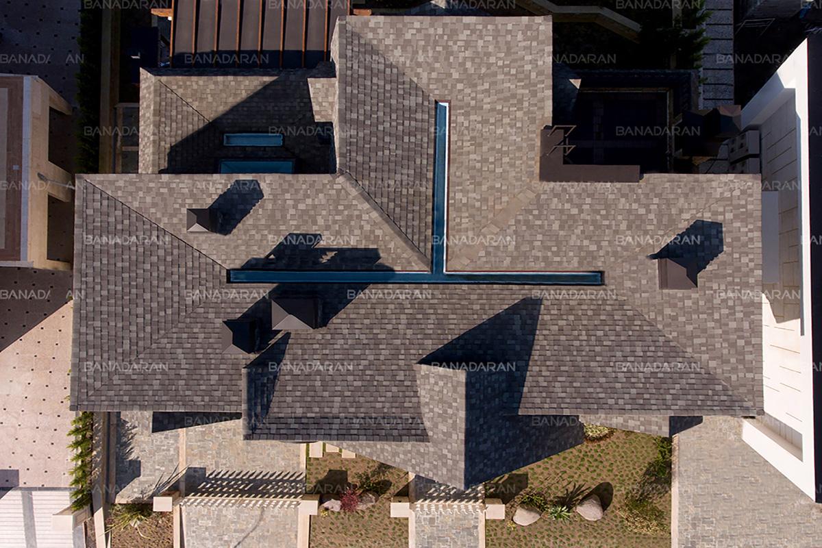 سقف شینگل-شینگل-پوشش سقف شینگل