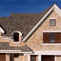 شینگل-ویلای مسکونی-پوشش سقف شینگل