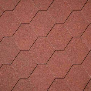 شینگل Superglass Hex - Tile Red (10)
