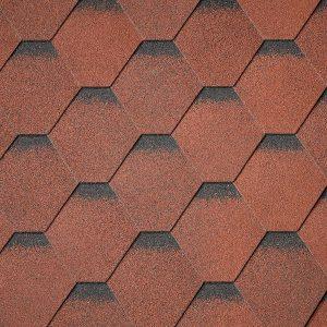 شینگل Superglass Hex - Tile Red Ultra (20)