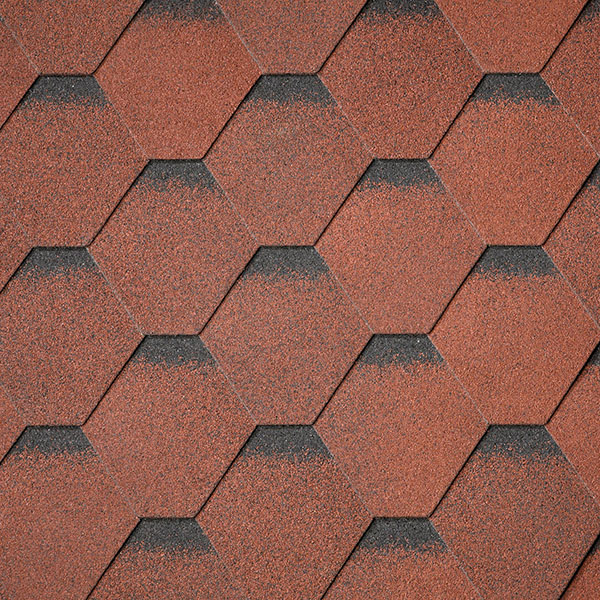 Superglass Hex - Tile Red Ultra (20)
