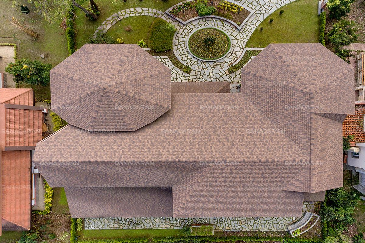 شینگل-پوشش سقف شیبدار