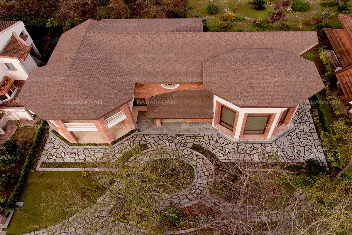 شینگل-پوشش سقف شیبدار-
